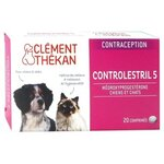 Controlestril 5 - Contraception chien/chat - 20 comprimés