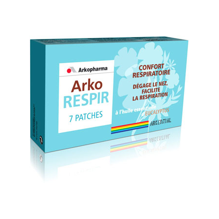 Arko Respir 7 patches - Arkopharma