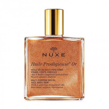 Huile Prodigieuse sèche multi-fonctions Or - 100 ml - Nuxe