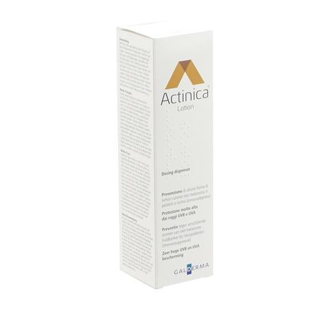 Actinica Lotion solaire très haute protection - 80 ml - Galderma Self Medication