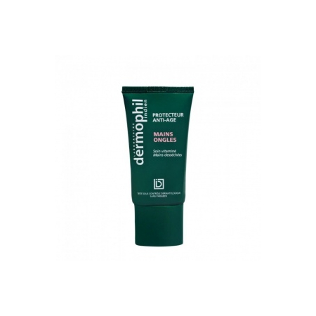Dermophil indien creme mains ongles 50ml