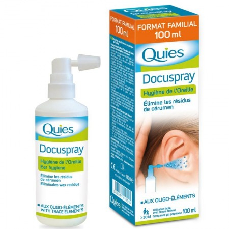 Docuspray - Spray auriculaire - 100 ml - Quies