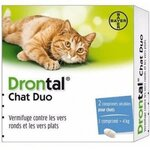 Drontal Chat Duo - 2 comprimés