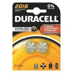 DURACELL PILE BOUTON 2016 X2