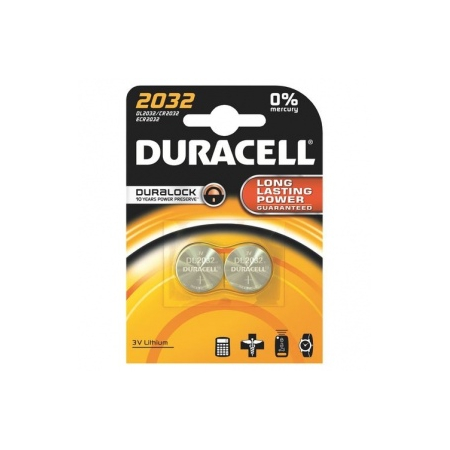 DURACELL PILE BOUTON 2032