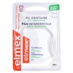 ELMEX PROTECTION CARIES FIL DENTAIRE CIRE MENTHOLE