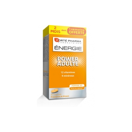 Energie Power Adulte - 56 comprimés