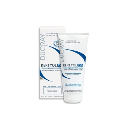 Etats Pelliculaires Kertyol P.S.O Shampooing Kératoréductrice 200 ml - Ducray