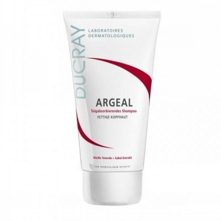 Argeal Shampoing Traitant Sébo-Absorbant - 200 ml - Ducray