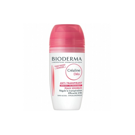 Créaline Déodorant Roll-on Anti-transpirant - 50 ml - Bioderma