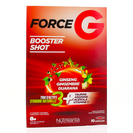 FORCE G POWER MAX SOLUTION BUVABLE AMP 10 ML X 10
