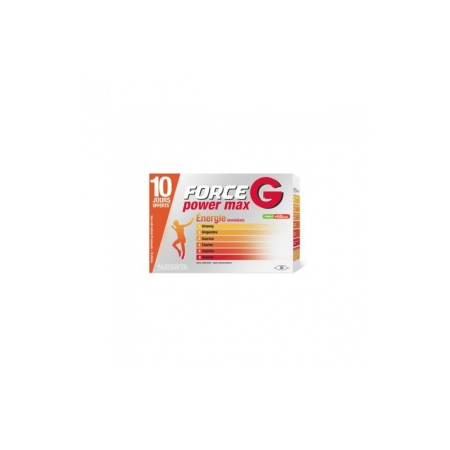 FORCE G POWER MAX SOLUTION BUVABLE AMP 10 ML X 30