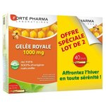 Gelée Royale 1000 mg - lot de 2 x 20 ampoules de 15 ml