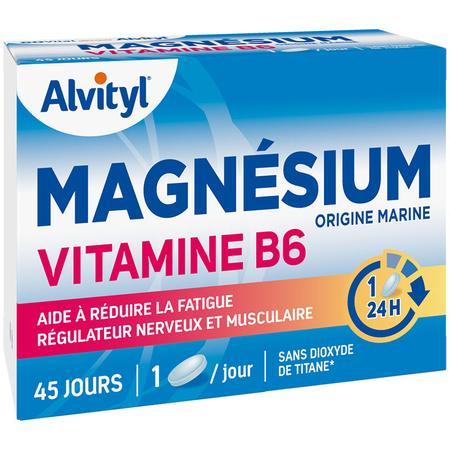 magn sium vitamine b6 45 comprim s de urgo sur 1001pharmacies. Black Bedroom Furniture Sets. Home Design Ideas