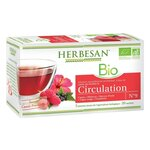 Bio Circulation Infusion Cassis Framboise - 20 sachets