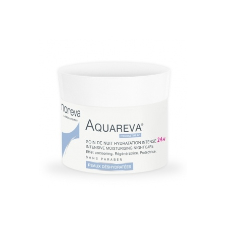 Aquareva - Soin de Nuit Hydratation Intense 24H - 50ml - Noreva Laboratoires