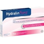 HydralinFlora traitement mycoses vaginales - 10 capsules