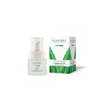Sérum Visage Illuminateur Aloe Vera - 15 ml