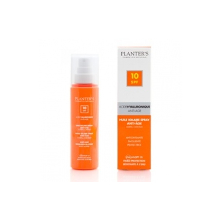 Huile Solaire Spray Anti-Âge corps & cheveux SPF10 - 100ml