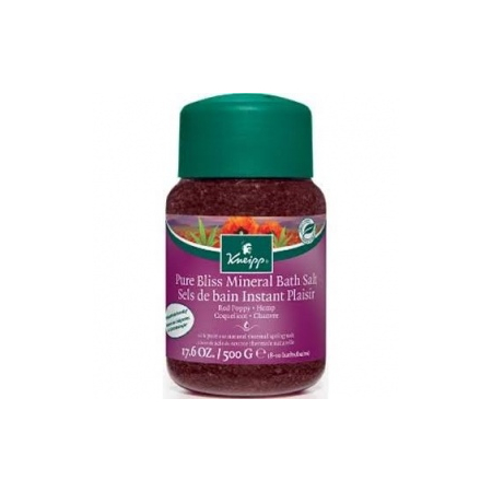 KNEIPP SELS BAIN COQUELICOT CHANVRE 500G - Kneipp France