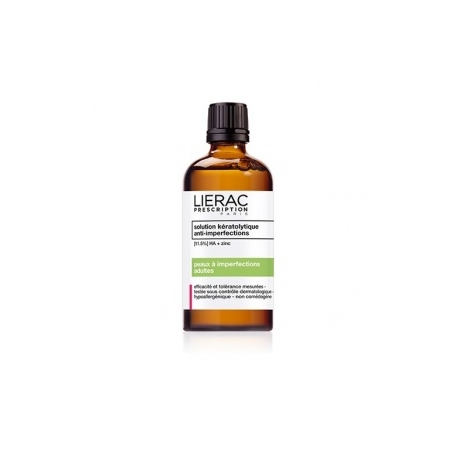 Prescription solution kéralotique anti-imperfections 100 ml - Lierac