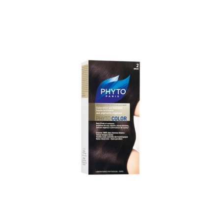 Phytocolor -Couleur Soin 2 Brun - 1 kit - Phyto