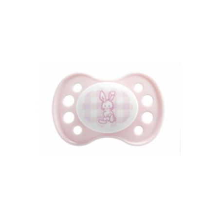 Sucette 0-2 mois Anatomique Silicone Rose x1