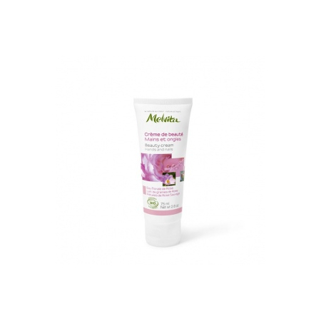 MELVITA NECTAR DE ROSE CR BEAUTE MAINS ONGLES 75ML