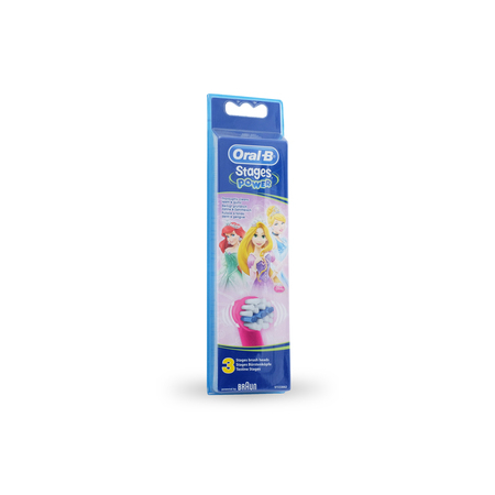 brossettes de rechange oral b stages kids princesse pack. Black Bedroom Furniture Sets. Home Design Ideas
