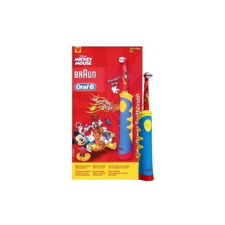 Brosse à Dents Electrique Kids Power Toothbrush (Mickey) - Oral-b
