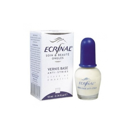 Ecrinal Vernis Base Lissant Anti-Stries - 10ml