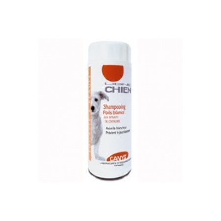 Canys Shampooing Chien à Poils Blancs  - 200ml - Asepta