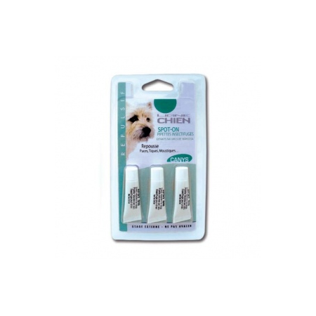 Canys Spot-on Pipettes insectifuges pour Chien - 3 X 2,8 ml