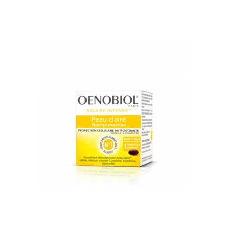 OENOBIOL SOLAIRE INTENSIF® NUTRIPROTECTION - 30 Capsules - Oenobiol