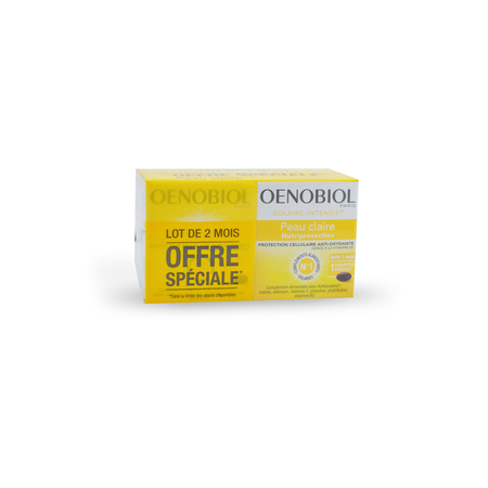 OENOBIOL SOLAIRE INTENSIF® NUTRIPROTECTION - 2 x 30 Capsules