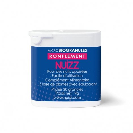Nuizz - Ronflement Micro Biogranules - 30 granules - Phytoresearch