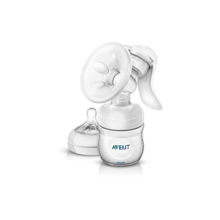 Tire-lait manuel natural + 1 biberon 125 ml SCF330/20 Philips Avent - Avent