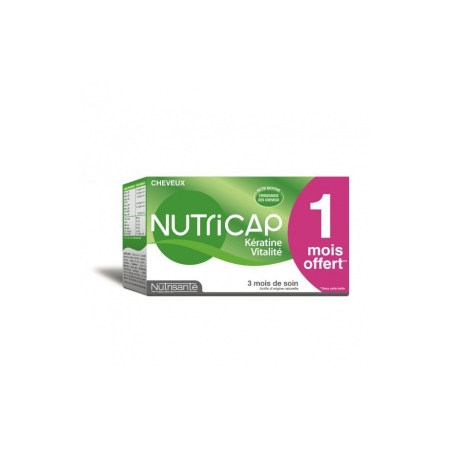NUTRICAP KERATINE CHEVEUX ONGLES CAPSULE 90
