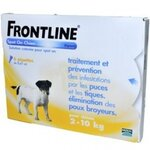 Spot-on Chien S  de 2-10 Kg - 6 Pipettes - Frontline