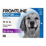 Spot-On L chien de 20-40 kg - 6 pipettes - Frontline