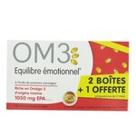 OM3 Equilibre Emotionnel 2+1 OFFERTE - 3 x 60 capsules