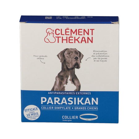 Parasikan Collier Dimpylate Antiparasitaires Grands Chiens - Clement Thekan