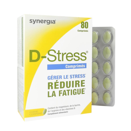 Synergia D-Stress - 80 comprimés - Synergia