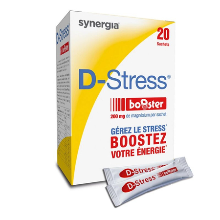Synergia D-Stress Booster complément alimentaire - 20 sachets - Synergia