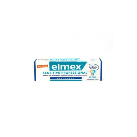 Elmex Sensitive Professional Dentifrice Blancheur  - 75ml - Elmex