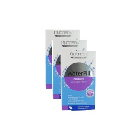 WaterPill Cellulite Destockeur Intensif - 3x20 Comprimés - Nutreov Physcience