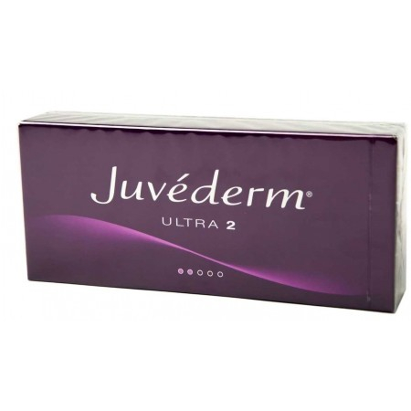 Juvéderm Ultra 2 - 2 seringues préremplies de 0,55 ml - Allergan