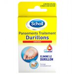 Durillons Pansements Durillons Coricides - 4 emplâtres et 4 disques Coricides