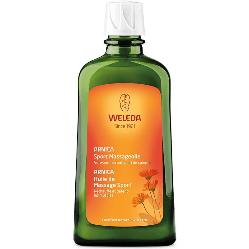 huile de massage l 39 arnica 200 ml de weleda sur 1001pharmacies. Black Bedroom Furniture Sets. Home Design Ideas