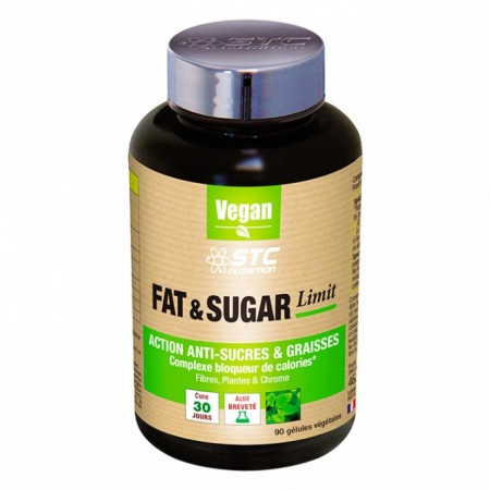 Fat & Sugar Limit - 90 gélules - STC Nutrition